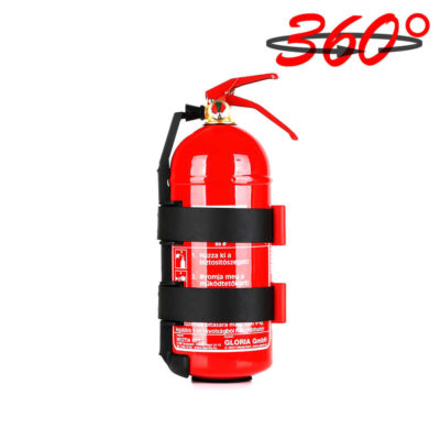 Gloria 2kg-os porral oltó tűzoltó készülék