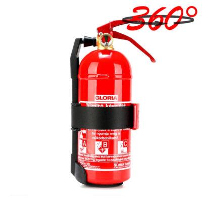 Gloria 1-kg-os porral oltó tűzoltó készülék