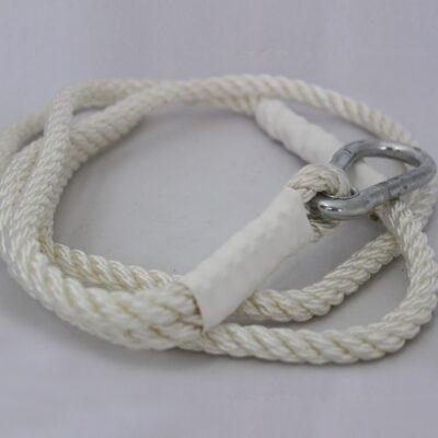 Tűzoltó tömlőtartó kötél