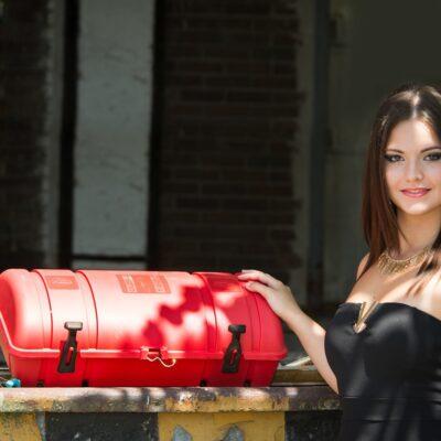 Tűzoltókészülék tároló