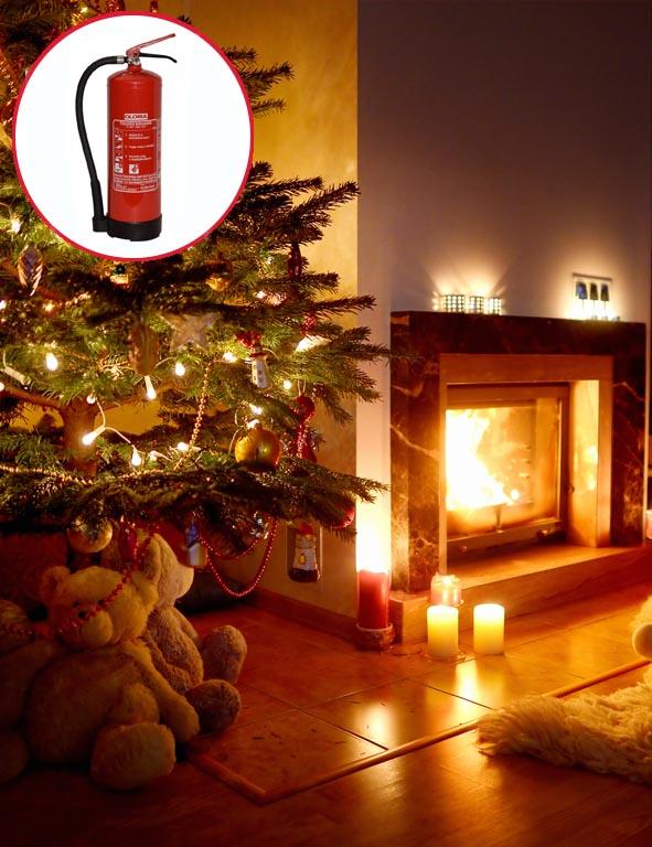 karácsony lakástűz