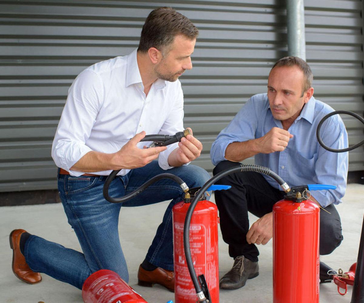 tűzoltó készülék karbantartás